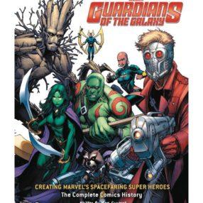 Artbook gardiens de la galaxie marvel