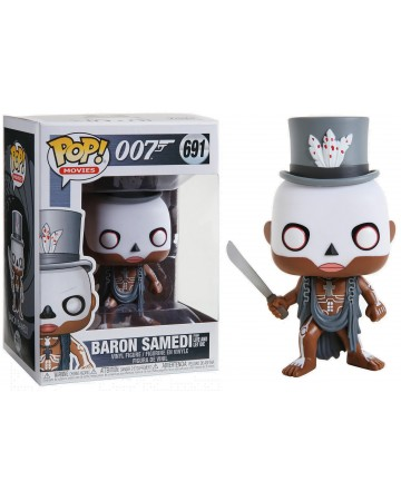 Funko Pop 007 Baron Samedi 691. Esprit Pop Shop la boutique geek de Pau