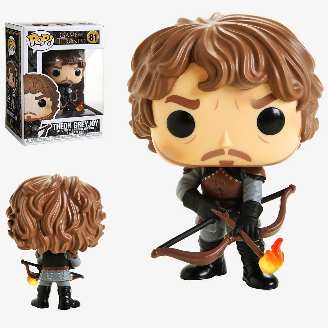 Funko Pop Game of Thrones Theon Greyjoy (Flèche enflammée) 81. Esprit Pop Shop la boutique geek de Pau