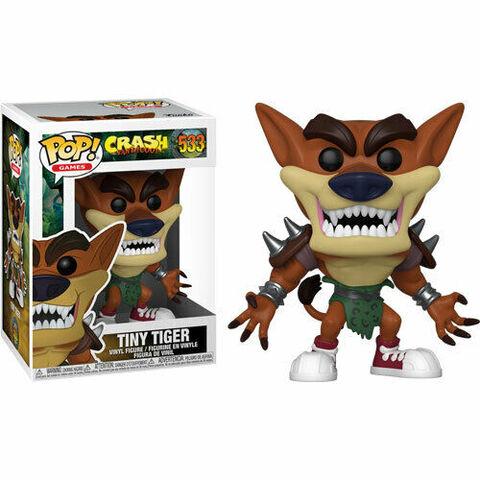 Funko Pop Crash Bandicoot Tiny Tiger 533. Esprit Pop Shop la boutique geek de Pau