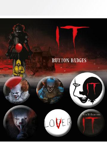 badges it pennywise stephen king