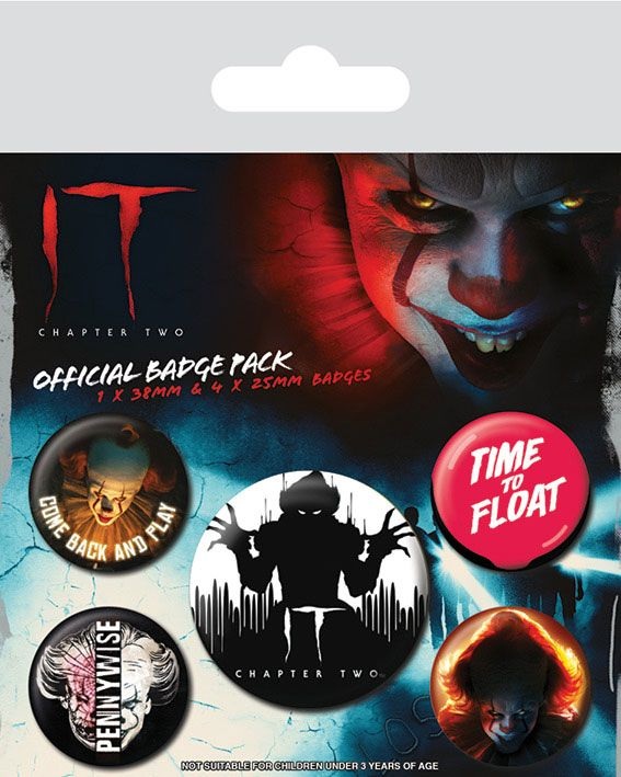 badges it chapter two stephen king pennywise