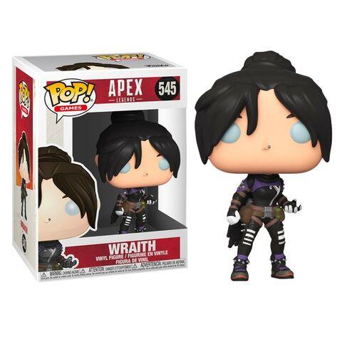 figurine funko pop apex 545 wraith esprit pop shop